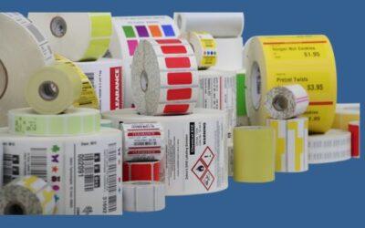 ¿Qué adhesivos y materiales elegir para su etiqueta de código de barras?